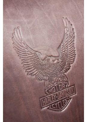 Кожаный рюкзак Байкер коричневый